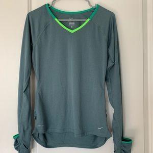 Nike long sleeve workout shirt